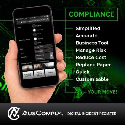 Digital incident register